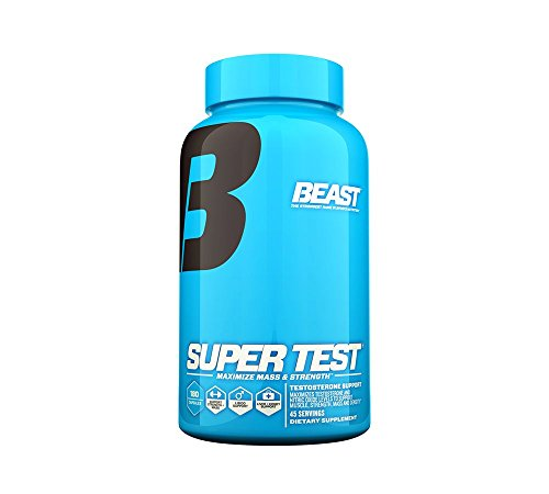 Beast Sports Nutrition, Super Test, 180 Count