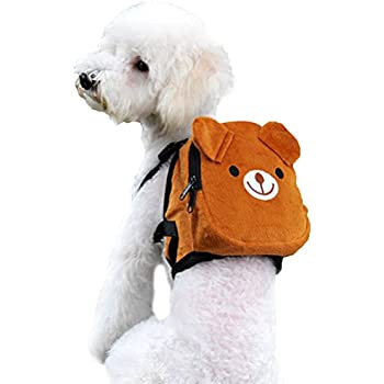 Amazon Com Pettom Dog Saddlebag Backpack Adjustable