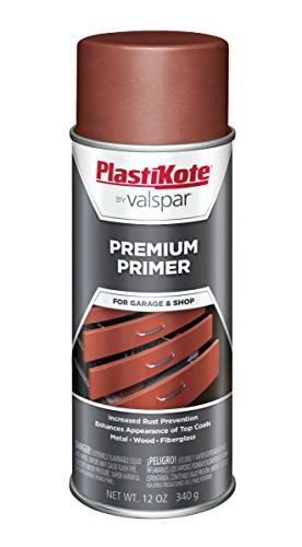 PlastiKote T-19 Red Oxide Premium Primer Enamel - 12 Oz.