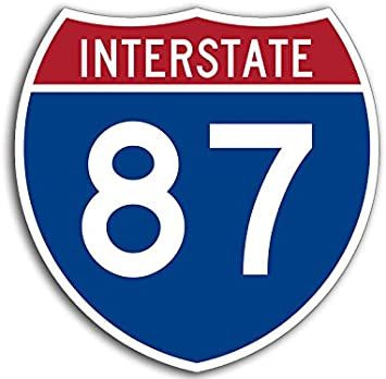 Connecticut State Highway 47 Sticker Decal R5085 Highway Route Sign