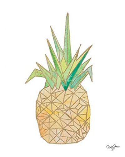 Amazon Origami Pineapple Poster Print By Nola James 8 X 10