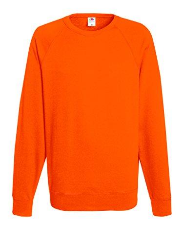 Of Loom Unisex The Fruit Arancione orange Felpa Raglan Sweatshirt 6wpqdq
