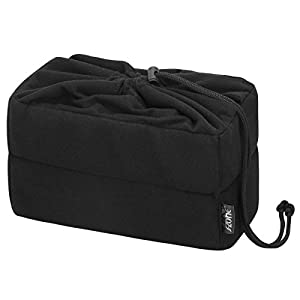 S-ZONE Velvet Drawstring Closure DSLR SLR Camera Insert Bag Camera Inner Case Bag for Sony, Canon, Nikon, Olympus