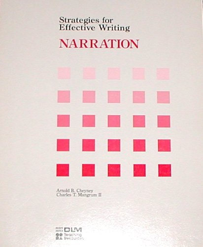 Strategies for Effective Writing NARRATION