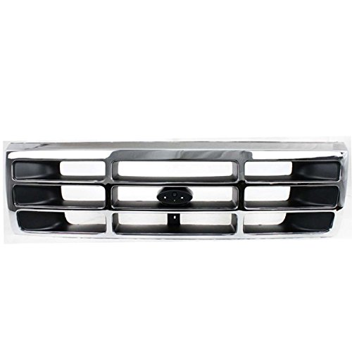 96 Assembly Grille Bronco Ford (NEW 92-97 F-Series Pickup Truck Front Grill Grille Assembly FO1200173 F4TZ8200A)