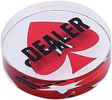 Hellery Botón De Repartidor De Juegos De Texas Holdem De 3 ...