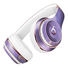 Light Purple Geometric V13 DesignSkinz Full-Body Skin Kit for the Beats by Dre Solo 2 Wireless Headphones / Ultra-Thin / Matte Finished / Protective Skin Wrap