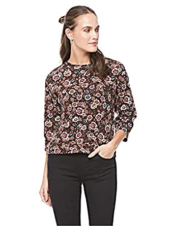 Pull & Bear Blouse for Women - Brown (S)