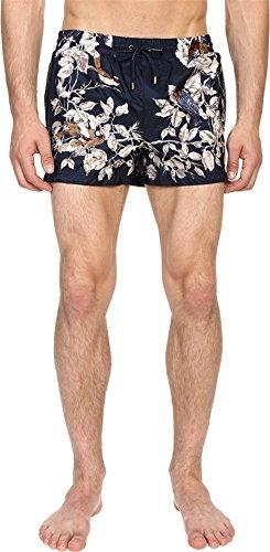 Dolce & Gabbana Men's Beachwear Shorts Navy/Print Underwear