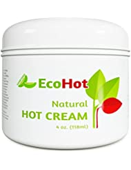 Natural Skin Tightening Cream - Anti Aging Body Treatment for Women + Men - Anti Cellulite Stretchmark + Scar Remover - Muscle Pain Relief - Antioxidant Hot Cream Gel Moisturizer For Dry + Saggy Skin