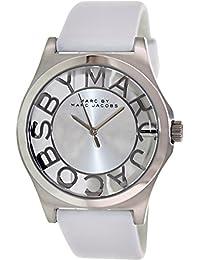 Marc by Marc Women's Henry MBM1241 White Leather Quartz Watch