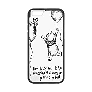 """Customized Winnie the Pooh Hard Case For Apple Iphone 6,5.5"""" screen Cases TPUKO-Q843327"""