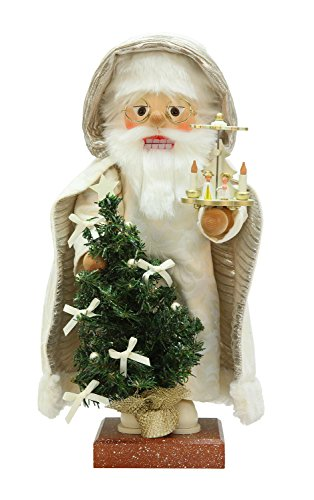 Alexander Taron Christian Ulbricht Decorative Santa with Pyramid Nutcracker by Alexander Taron