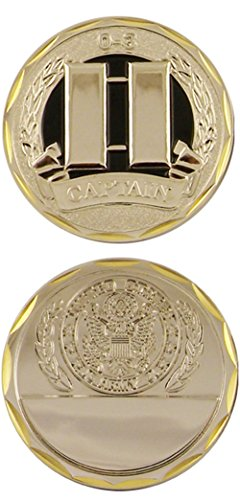 U.S. Army Captain 0-3 Challenge - Challenge Captain Coin