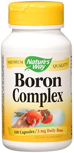 Nature's Way – Boron Complex, 100 capsules Review
