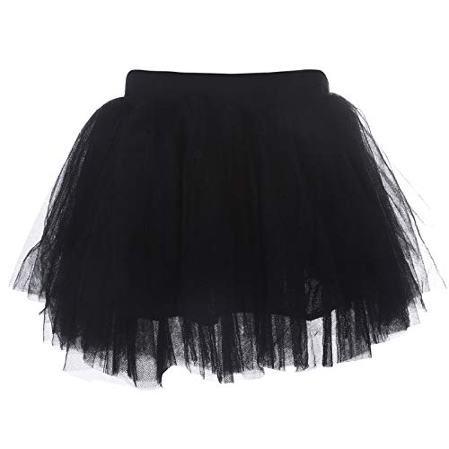 AWAYTR Baby Tutu Skirt for Girls - 4 Layers Soft Tulle Princess Dress Halloween Tutu -