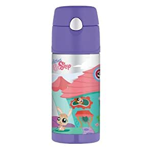 Thermos- Littlest Pet Shop Funtainer Bottle - 12 Oz.