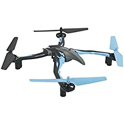 Dromida Ominus Unmanned Aerial Vehicle (UAV) Quadcopter Ready-to-Fly (RTF) Drone with Radio System, Batteries and USB Charger (Blue)