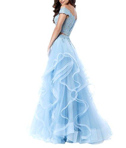 Minze La A Brau Linie Festlichkleider Bodenlang Ballkleider Gruen Partykleider Abendkleider Langes Promkleider mia Tuell q7w6rTq