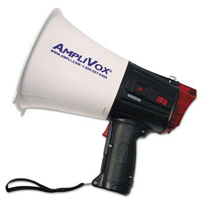 10W Emergency Response Megaphone, 100 Yards Range, Sold as 1 Each by Amplivox