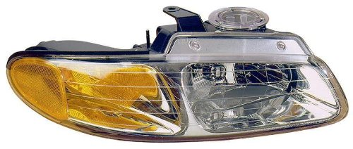 Plymouth Voyager Replacement Headlight - Depo 333-1110R-AS Chrysler/Dodge/Plymouth Passenger Side Replacement Headlight Assembly
