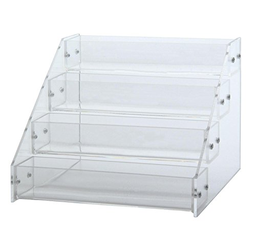 Leegoal(TM) Nail Polish Organizer Table Rack Display(Hold Up To 20 Bottles) (Nail Polish Clear Essie)