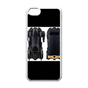iPhone 5C Phone Case White Batman-Batmobile CML5597523
