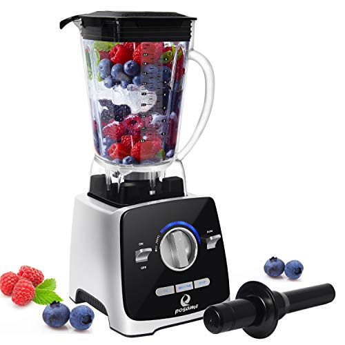(Professional Blender, POSAME 1400W High Speed Blende Blender for Shakes and Smoothies, Hot Soups, Nuts, Coffee Bean, Juice, Baby Food, Countertop Blender , 72 Ounces BPA-Free Tritan Jar, Variable Speed Control)