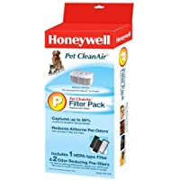 Genuine Honeywell Compatible with HRF-CP2 Pet CleanAir Filter Combo Pack (Filter P)