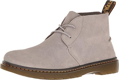 Bronx Mens Boots - Dr. Martens Men's Ember Desert Boot,Mid Grey Bronx Suede,UK 13 M