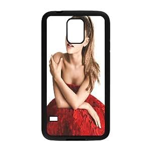 Unique Design -ZE-MIN PHONE CASE For Samsung Galaxy S5 -Singer Ariana Grande Pattern Pattern 19
