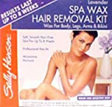 Sally Hansen Spa Wax Removal Kit Body 10 pcs sku# 905156MA
