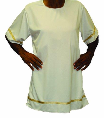 Roman Period Costumes - Alexanders Costumes Roman Tunic, White,