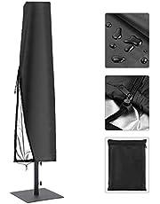 SanGlory 420D Sonnenschirm Abdeckung 4M Wasserdicht Sonnenschirm Hülle Große Outdoor Regenschirm Abdeckung für Ampelschirm/Standschirm und Gartenschirme mit Aufbewahrungstasche