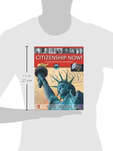 Citizenship Now! Student Book with Pass the Interview DVD and Audio CD: A Guide to Naturalization by McGraw-Hill Education