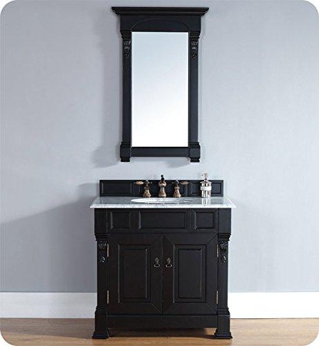 James Martin Furniture Single Vanity, 36-Inch, Antique - Dresser Black Antique