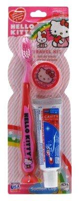 Hello Kitty cepillo de dientes Kit de viaje