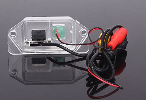 CCD Color Car Reverse Rear View Parking Back Up Camera For MITSUBISHI Lancer - фото 6