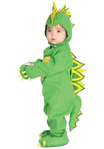 Rubies Dragon / Dinosaur Newborn Romper Halloween Costume | (Spike Dragon Costume)