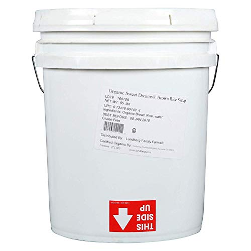 5 Gallon - Lundberg Family Farms Organic Brown Rice Syrup, Sweet Dreams, FS Food Service Pack by Lundberg (Image #2)