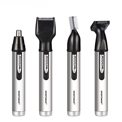 LFM Rechargeable 4 in 1 Electric Hair Clippers Nose Ear Beard Hair Eyebrow Trimmer Set for Men Professional Portable Shaving Machine