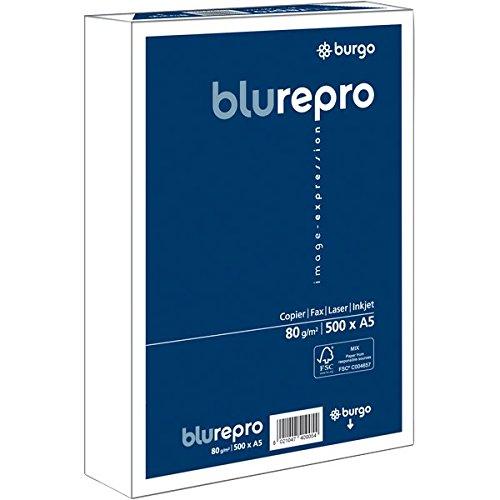 Burgo 1104470 Repro 80, A5, Confezione 10, Blu/Bianco 312237