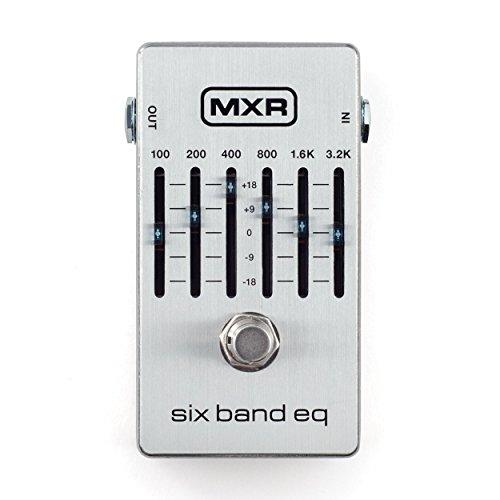 MXR M109S Six Band EQ Pedal w/Bonus Dunlop PVP101 Pick-Pack (x12) 710137095625 by MXR