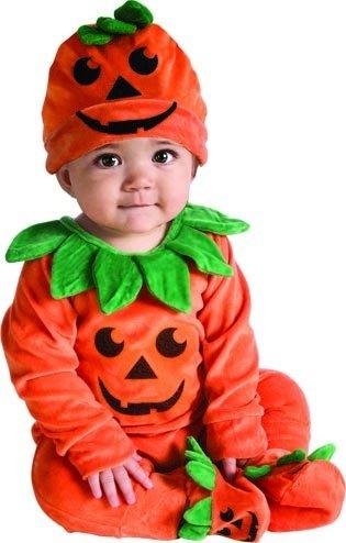 Rubie's My First Halloween Lil Pumpkin Jumper Costume, Orange, 6-12 Months - Orange Halloween Pumpkin