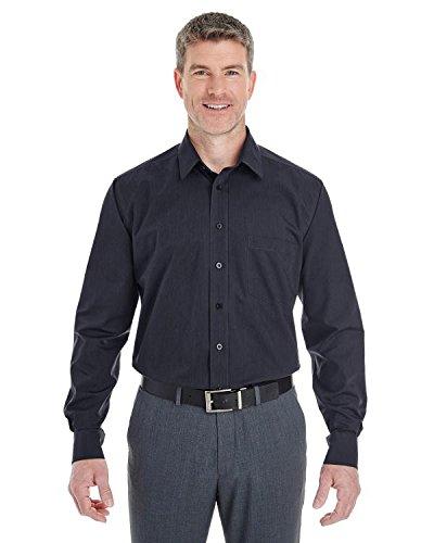 (Men's Crown CollectionÖ Striped Shirt - BLACK/ GRAPHITE - 3XL)