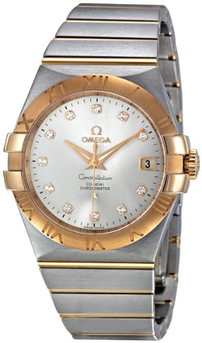 - Omega Constellation Chronometer Silver Dial Watch 123.20.35.20.52.001