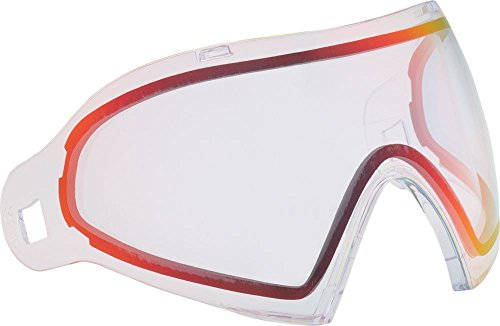 Dye i4 Thermal Dyetanium Mirror Goggle Lens - Clear Sunrise (Tactical Goggle Clear Replacement Lens)