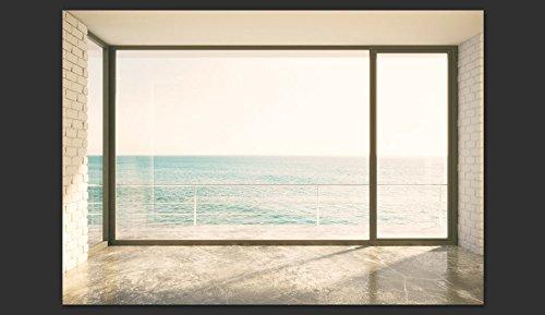 Fototapete blick aus dem fenster  murando - Fototapete 300x210 cm - Vlies Tapete - Moderne Wanddeko ...