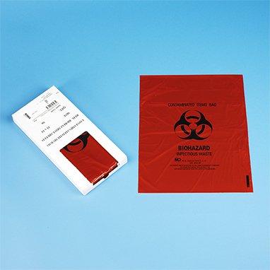 DSS Small Biohazard Bag, 11-1/4 x 14-1/2
