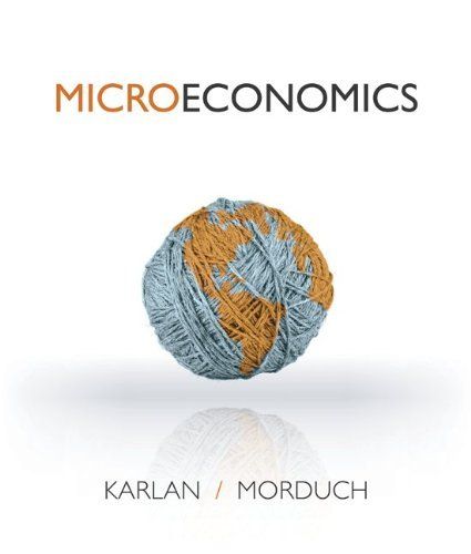 MICROECONOMICS-EARLY RELEASE